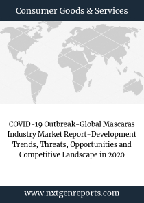 COVID-19 Outbreak-Global Mascaras Industry Market Report-Development Trends, Threats, Opportunities and Competitive Landscape in 2020