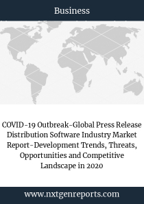 COVID-19 Outbreak-Global Press Release Distribution Software Industry Market Report-Development Trends, Threats, Opportunities and Competitive Landscape in 2020