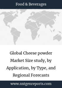 Global Cheese powder Market Size study, by Application, by Type, and Regional Forecasts 2018-2025