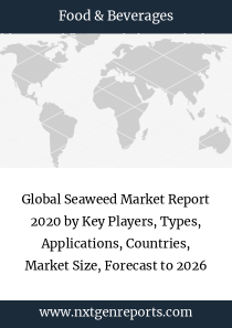 Global Seaweed Market Report 2020 by Key Players, Types, Applications, Countries, Market Size, Forecast to 2026