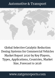 Global Selective Catalytic Reduction Dosing Systems for Commercial Vehicles Market Report 2020 by Key Players, Types, Applications, Countries, Market Size, Forecast to 2026