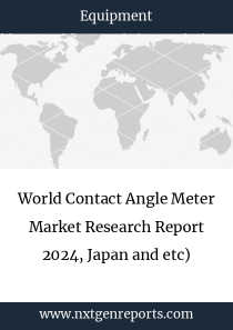 World Contact Angle Meter Market Research Report 2024, Japan and etc)