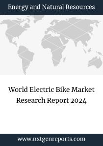 World Electric Bike Market Research Report 2024
