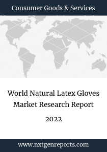World Natural Latex Gloves Market Research Report 2022