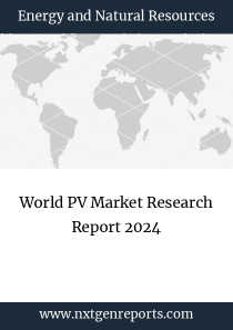 World PV Market Research Report 2024